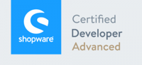 Shopware Developer Advanced Zertifikat 3x